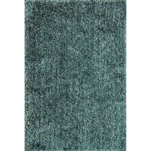 Kendall Shag Teal Rectangular: 2 Ft. 3-Inch x 3 Ft. 9-Inch Rug