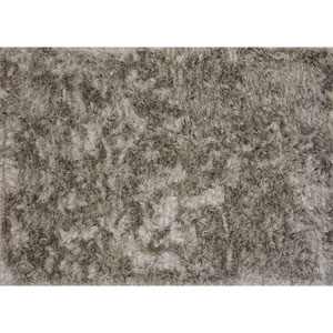 London Shag Taupe and Ivory Rectangular: 2 Ft. 3 In. x 3 Ft. 9 In. Rug