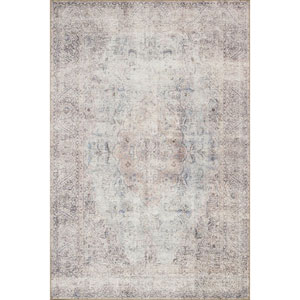 Loren Silver and Slate Rectangular: 8 Ft. 4 In. x 11 Ft. 6 In.  Rug