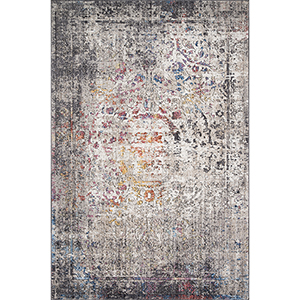 Medusa Granite and Multicolor Runner: 2 Ft. 4 In. x 10 Ft. Rug