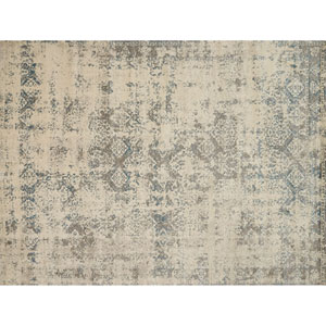Millennium Ivory and Grey Rectangular: 2 Ft. 7 In. x 4 Ft. Rug