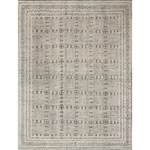 Origin Grey and Ivory Square: 1 Ft. 6 In. x 1 Ft. 6 In. Rug