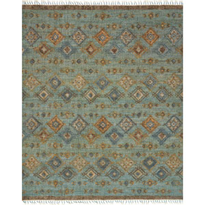 Owen Sea and Blue Rectangular: 3 Ft. 6-Inch x 5 Ft. 6-Inch Rug