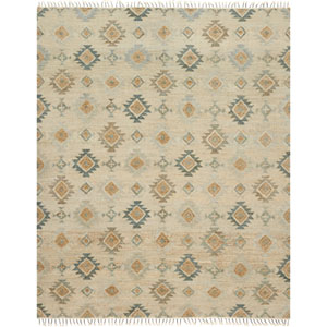 Owen Pewter and Sand Rectangular: 5 Ft. x 7 Ft. 6-Inch Rug