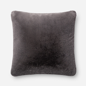 Charcoal 22 In. x 22 In. Pillow Cover