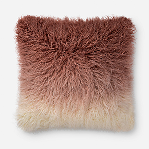 Blush and Ivory 22 In. x 22 In. Pillow Cover
