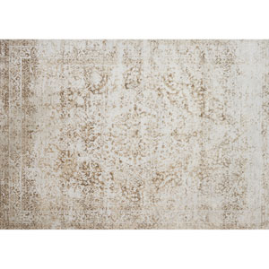 Patina Champagne and Light Grey Rectangular: 2 Ft. 7 In. x 4 Ft. Rug