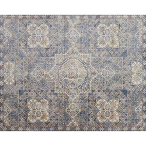 Porcia Blue Rectangular: 2 Ft. x 3 Ft. 4 In. Rug
