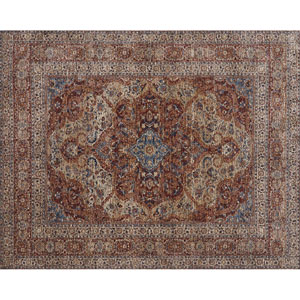 Porcia Adobe Spice Square: 1 Ft. 6 In. Rug