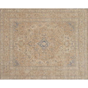 Porcia Beige Square: 1 Ft. 6 In. Rug