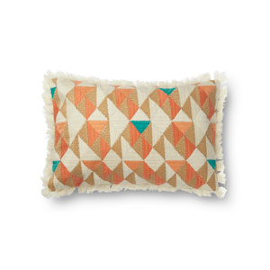 Multicolor 13 x 21 In. Pillow with Poly Fill
