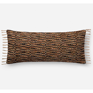 Justina Blakeney Multicolor 13 In. x 35 In. Throw Pillow with Poly Fill
