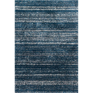 Quincy Navy and Pewter Rectangular: 2 Ft. 3 In. x 4 Ft.  Rug