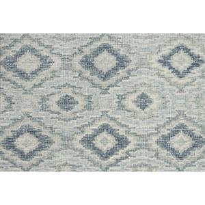 Tatum Slate and Silver Square: 1 Ft. 6 In. Rug