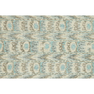 Tatum Blue and Turquoise Square: 1 Ft. 6 In. Rug