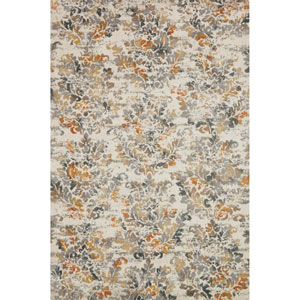 Torrance Ivory and Beige Rectangular: 2 Ft. 7-Inch x 4 Ft. Rug