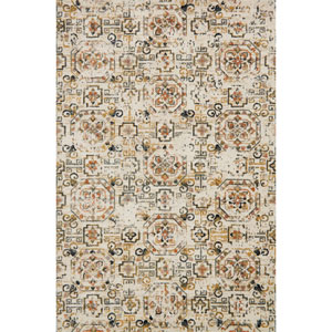 Torrance Ivory and Taupe Rectangular: 9 Ft. 3-Inch x 13 Ft. Rug