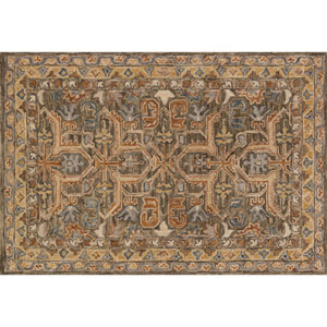 Victoria Multicolor Rectangular: 2 Ft. 3-Inch x 3 Ft. 9-Inch Area Rug