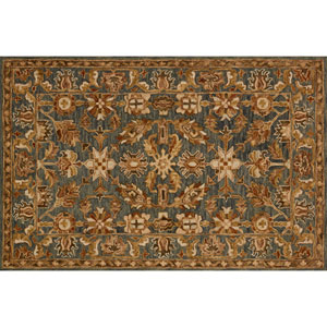 Victoria Slate Rectangular: 2 Ft. 3-Inch x 3 Ft. 9-Inch Area Rug
