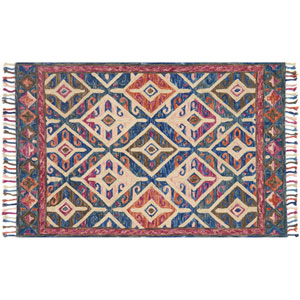 Zharah Multicolor Square: 1 Ft. 6-Inch x 1 Ft. 6-Inch