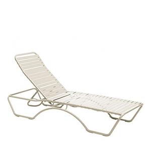 Baja Sandstone Aluminum Poolside Chaise Lounge