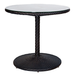 Barlow Dark Roast Round Bistro Table