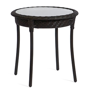 Barlow Dark Roast Round End Table
