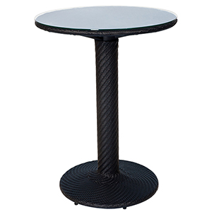 Barlow Dark Roast Bar Height Table