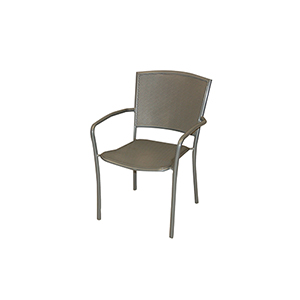 Albion Mercury Iron Cafe Arm Chair