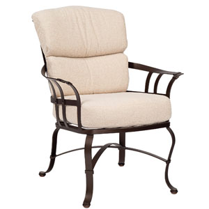 Atlas Brisa Chamois Dining Arm Chair