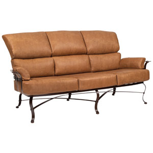 Atlas Brisa Distressed Onyx Sofa