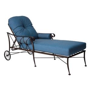 Derby Spectrum Denim Adjustable Chaise Lounge