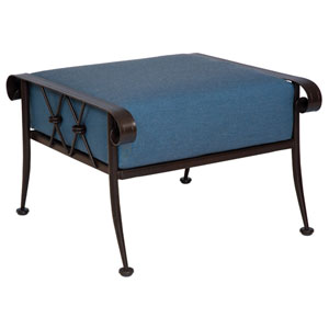 Derby Spectrum Denim Ottoman
