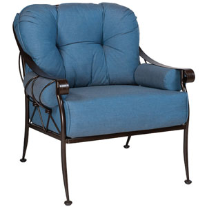 Derby Flagship Pecan Lounge Chair