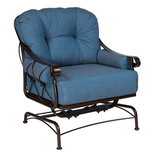 Derby Flagship Pecan Spring Lounge Chair