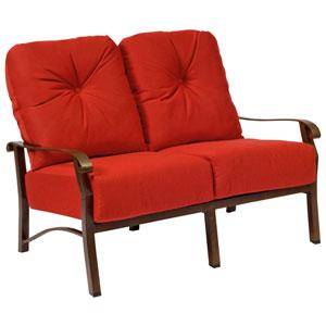Cortland Cushion Flagship Pecan Love Seat