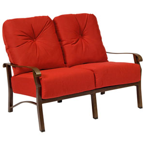 Cortland Cushion Casino Dune Love Seat