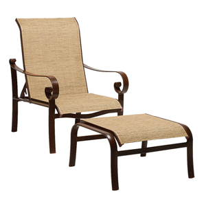Belden Sling Current Sisal Adjustable Lounge Chair