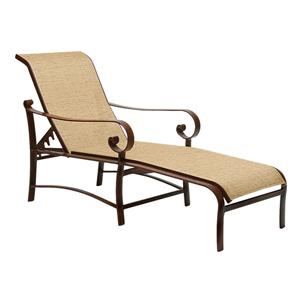 Belden Sling Current Sisal Adjustable Chaise Lounge