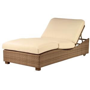 Saddleback Canyon Bamboo Double Chaise Lounge