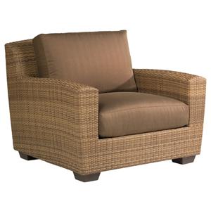 Saddleback Flagship Pecan Lounge Chair