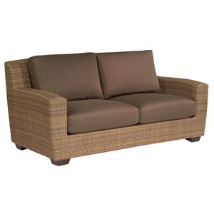 Saddleback Flagship Pecan Love Seat