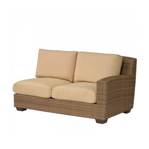 Saddleback Sailcloth Sand Right Arm Facing Love Seat Sectional Unit