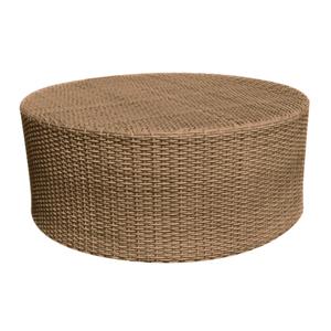 Saddleback Mocha Round Coffee Table
