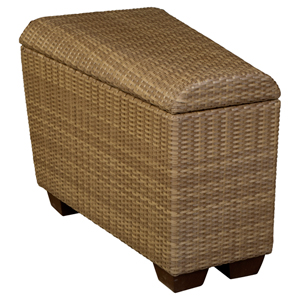 Saddleback Mocha Wedge Unit with Storage