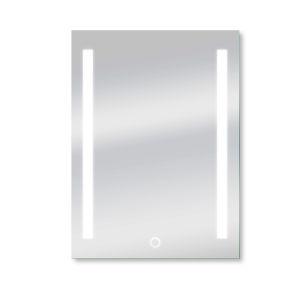 Catella Silver 24 x 34 Inch ADA LED Mirror