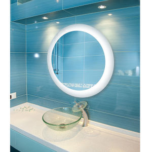 Royal White LED Wall Mounted Backlit Vanity Bathroom Mirror with 4000K