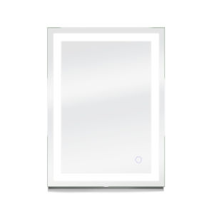 Edison Silver 24 x 34 Inch ADA LED Mirror
