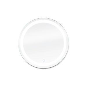 Edison Silver 24 x 34 Inch ADA Round LED Mirror