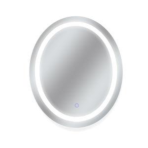 Edison Silver 30 x 36 Inch LED Mirror